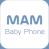 Logo for MAM Baby Phone app