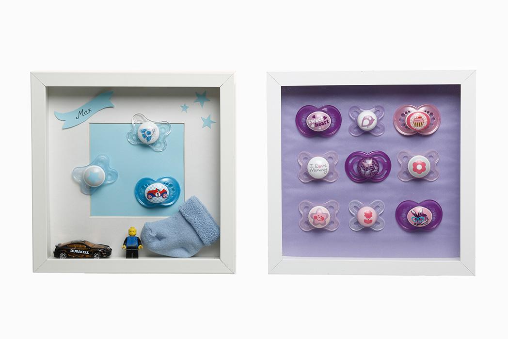 bastelecke f r babysachen von mam baby. Black Bedroom Furniture Sets. Home Design Ideas