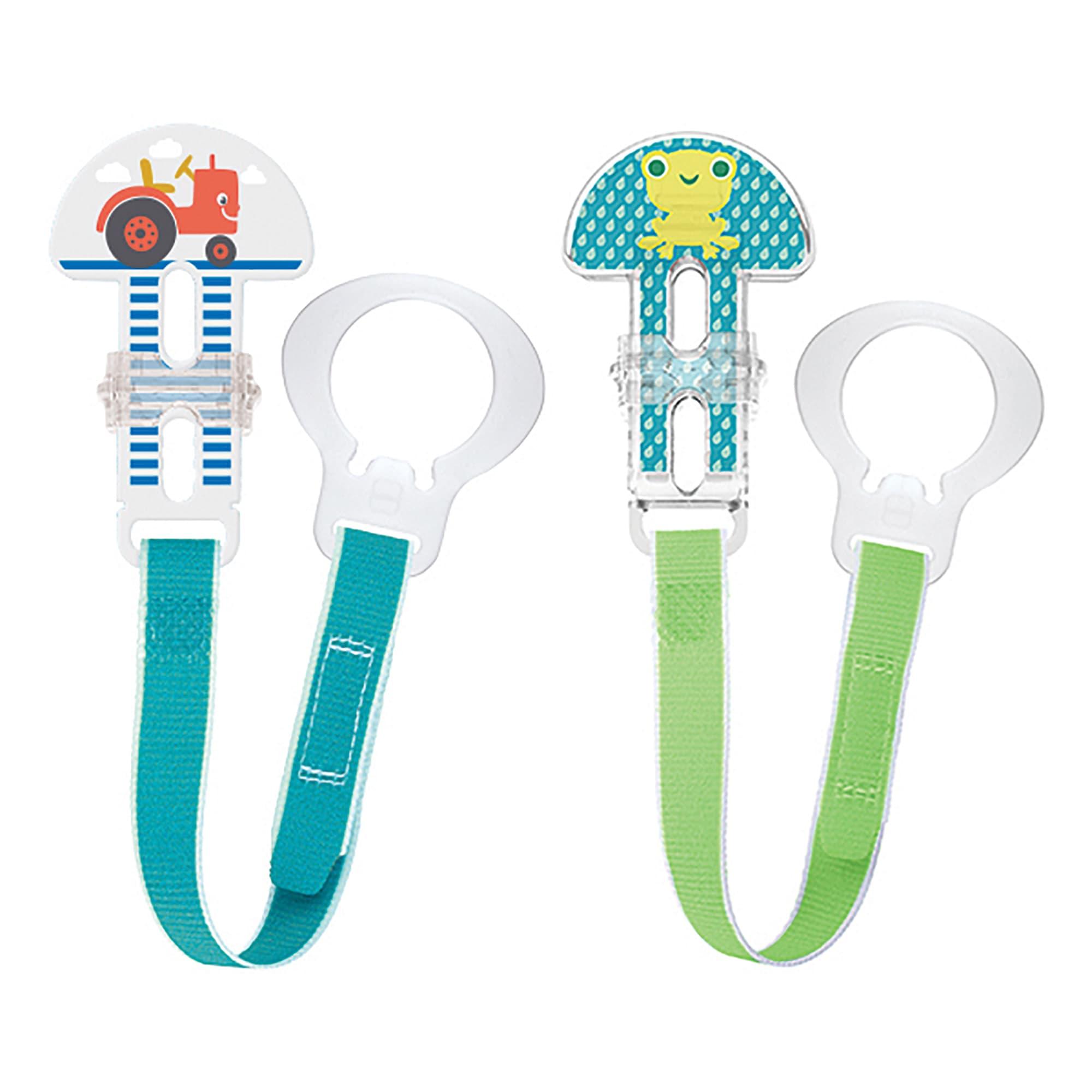 Pacifier Clip Set – 2 clips