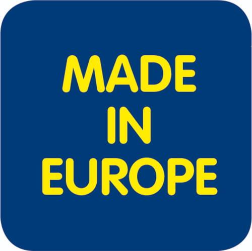 Dit product is vervaardigd in Europa