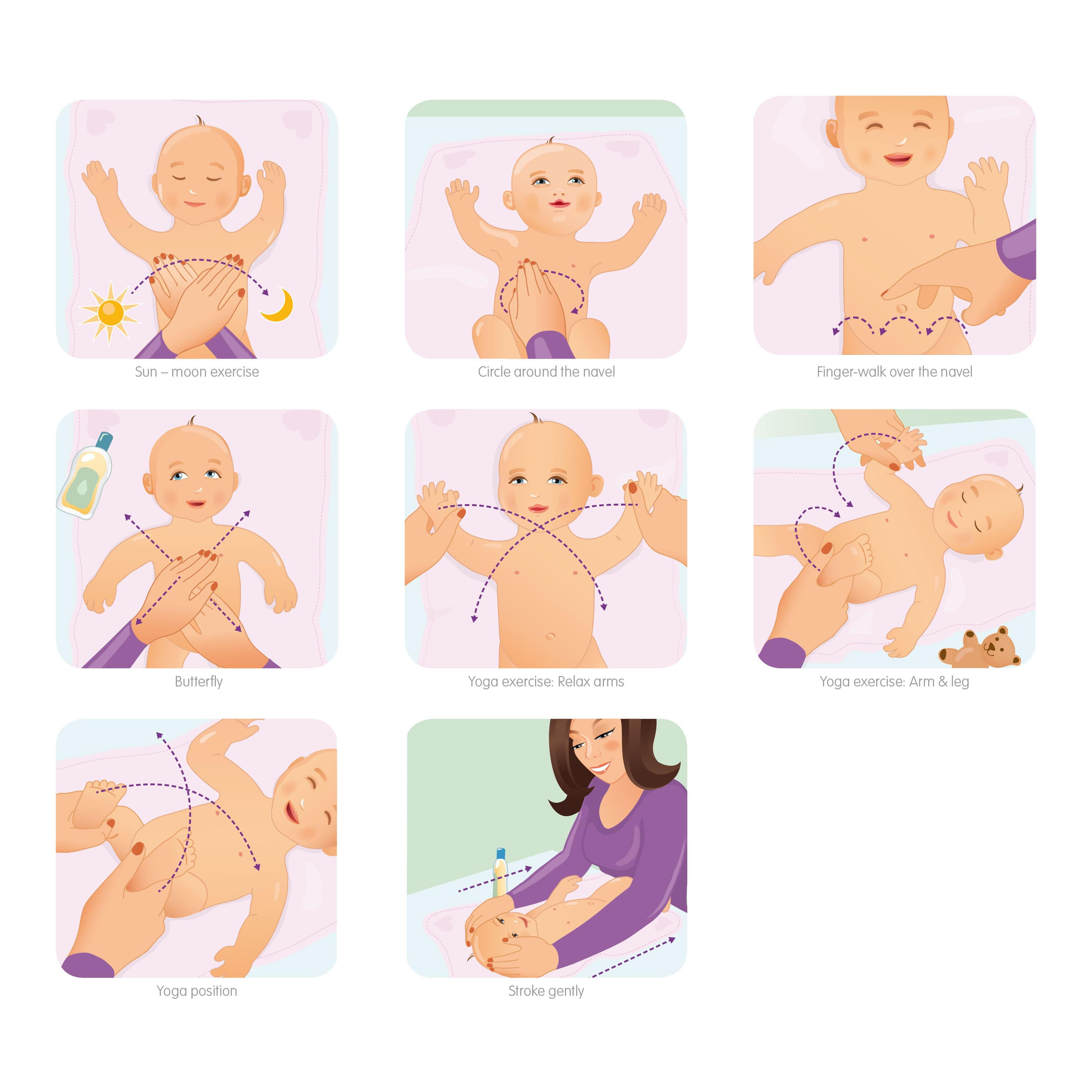 Baby Massage_Illustration