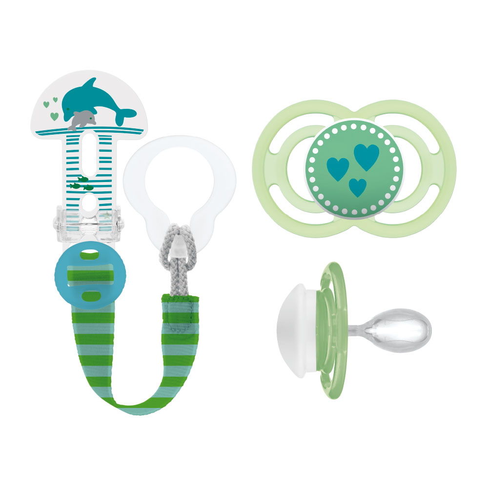 MAM Perfect 16+ & Clip it! Deep Sea