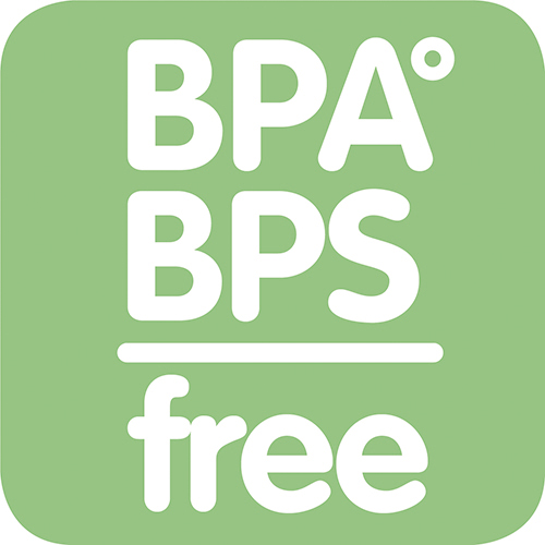 Alle MAM-producten zijn gemaakt van materialen die geen BPA en BPS bevatten.