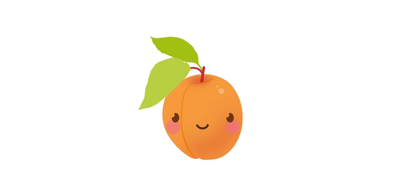 Din bebis är nu ungefär lika stor som en liten persika.