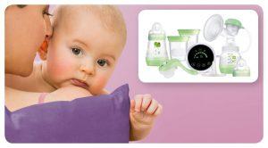 MAM 2in1 Electric & Manual Breast Pump