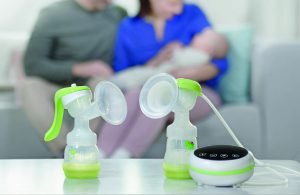 att använda MAM 2in1 Manuel and electric breastpump