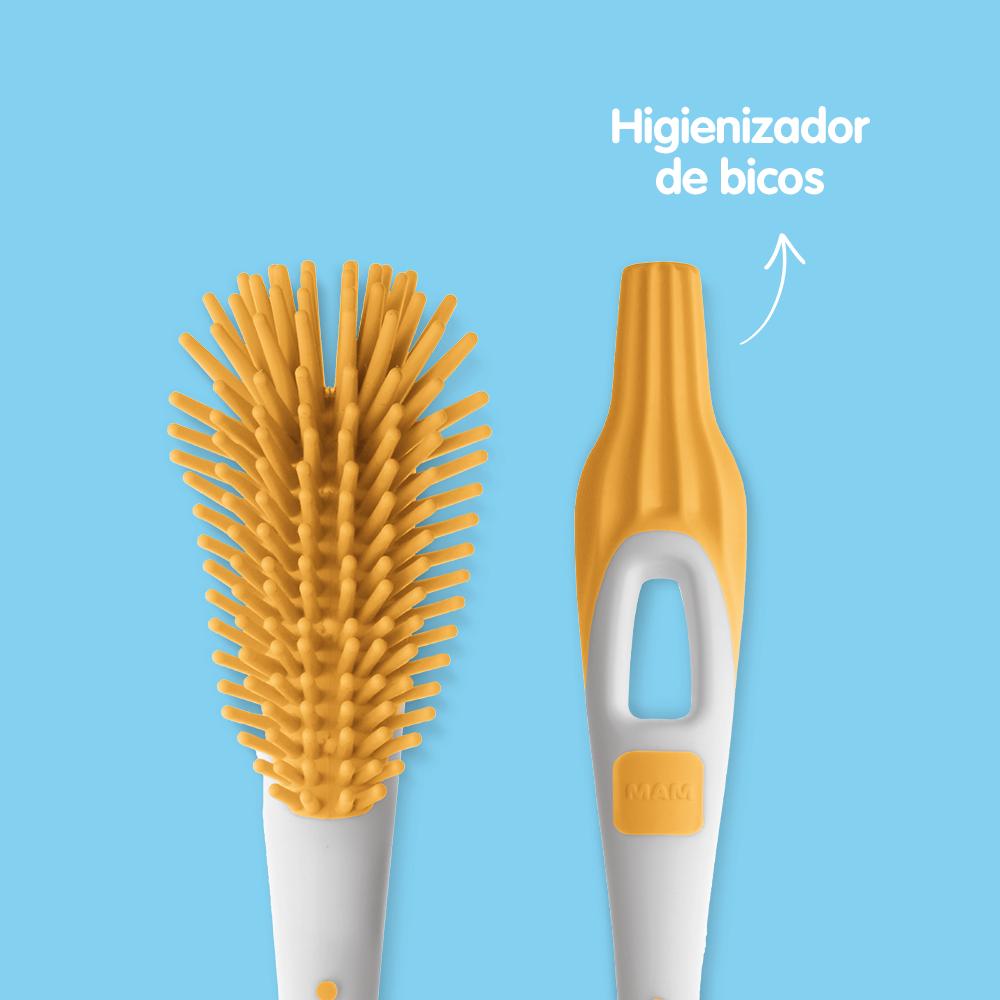 Escova para Limpeza de Mamadeiras e Bicos MAM - Soft Brush