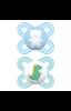 Chupeta MAM Start, 0-2 meses, Embalagem Dupla-Arctic Blue & Ivory Chupeta MAM Start, 0-2 meses, Deep Sea, Embalagem Dupla