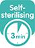self-sterilising